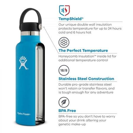 Hydro Flask 24 oz thermosfles 710ml Standard Mouth - flex cap