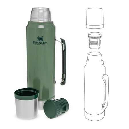 Stanley The Legendary Classic Bottle 1l thermosfles