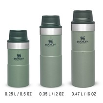The Trigger Action Travel Mug thermosfles - Hammertone Green
