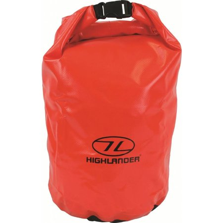 Highlander drybag - small - 16l - oranje