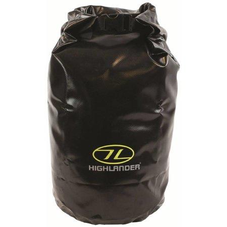 Highlander drybag - small - 16l - zwart
