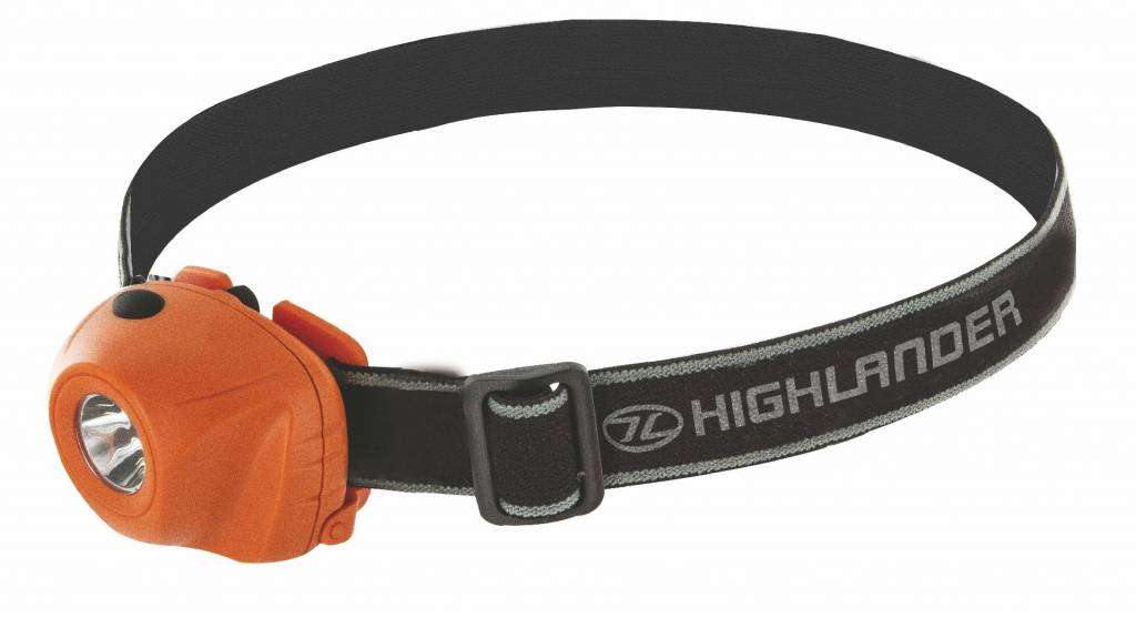 Highlander Beam - hoofdlamp - oranje
