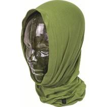 Headover nekwarmer  balaclava sjaal - olive