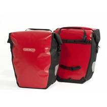 Backroller city - set van 2 - waterdichte fietstassen - rood