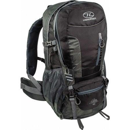 Highlander Hiker - backpack - 40L - Zwart
