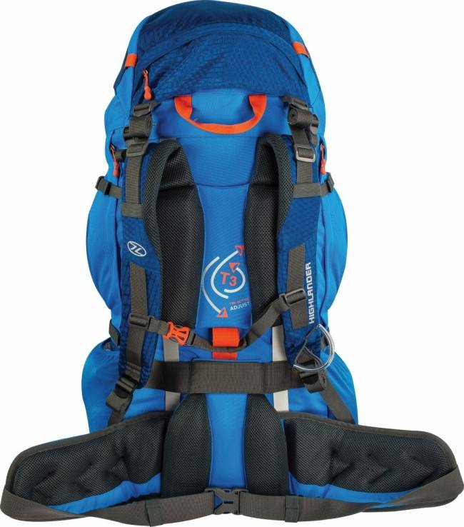 d8ebb67ac1a Highlander Ben Nevis - backpack - 85L - blauw   Backpackspullen.nl