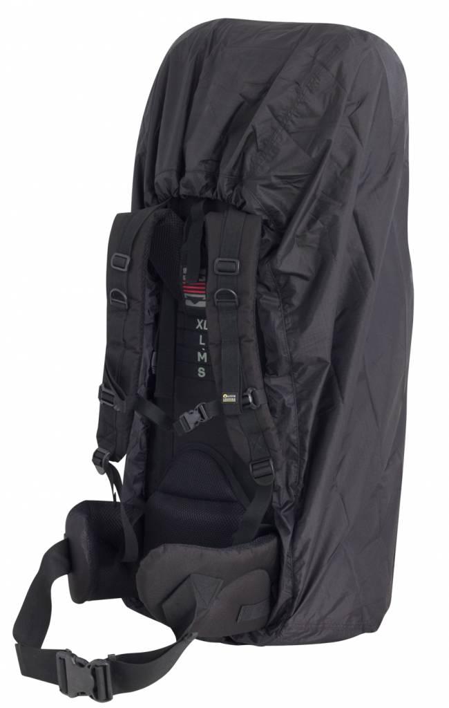 0c9adbc8412 Travelsafe Combi cover M - tot 55l - backpack flightbag & regenhoes - zwart