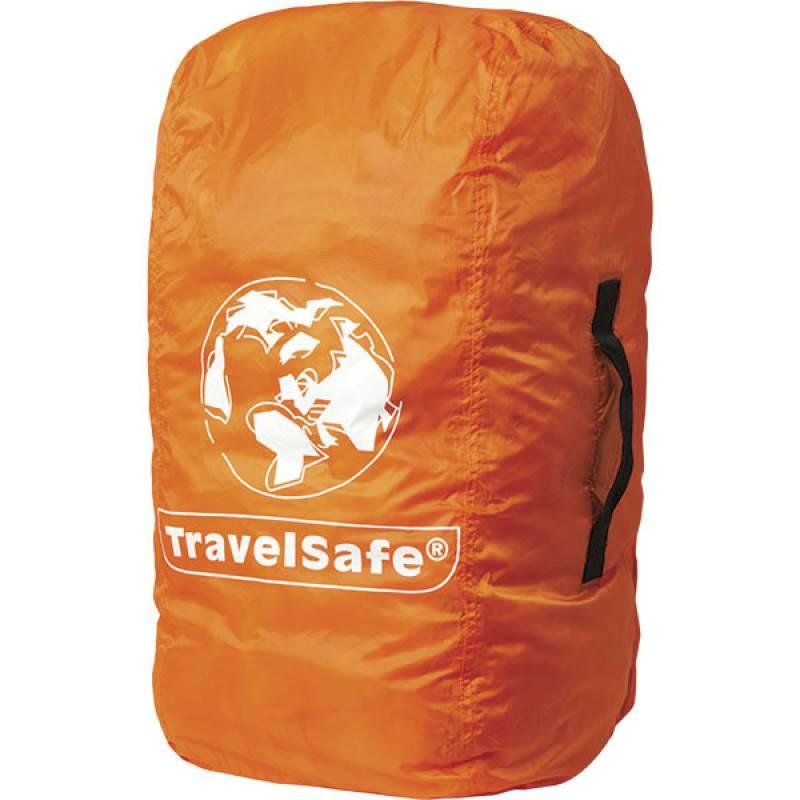 8512d001bb1 Travelsafe Combi cover M - tot 55l- backpack flightbag & regenhoes - oranje