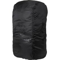 Combi cover M - tot 55l - backpack flightbag & regenhoes - zwart