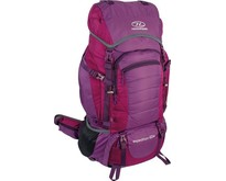 Expedition W - dames backpack - 60L - paars