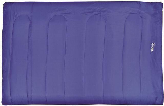 Highlander Sleepline 300 - 2 persoons rechte slaapzak - blauw