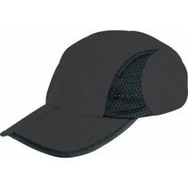 Trekking cap - wandel- & sportpet - zwart