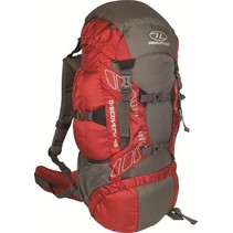 Discovery 45l  backpack - rood