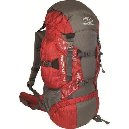 Highlander Discovery 45l  backpack - rood