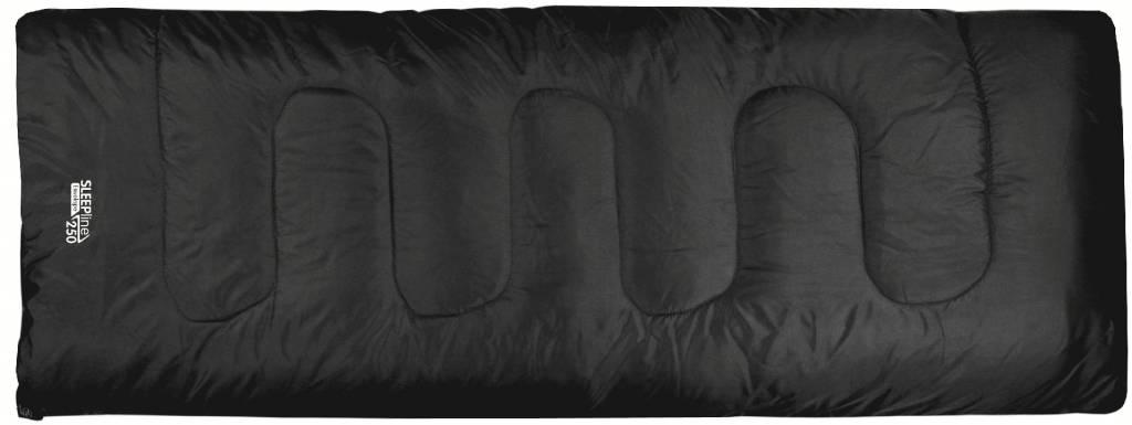 Highlander Sleepline 250 - rechte slaapzak - zwart