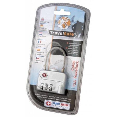 Travelsafe TSA cijferslot met kabel