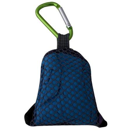 Travelsafe Clip Towel - 40 x 40 cm - Blauw