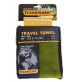 Travelsafe Microvezel reishanddoek M - 135 x 70 cm - Groen