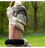 Highlander Paracord armband met fluitje - Olive