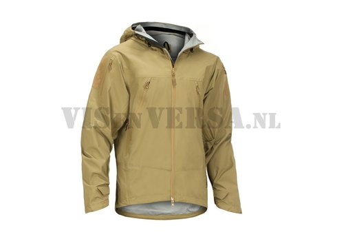 Claw Gear Melierax Hardshell Jacket - Coyote Brown