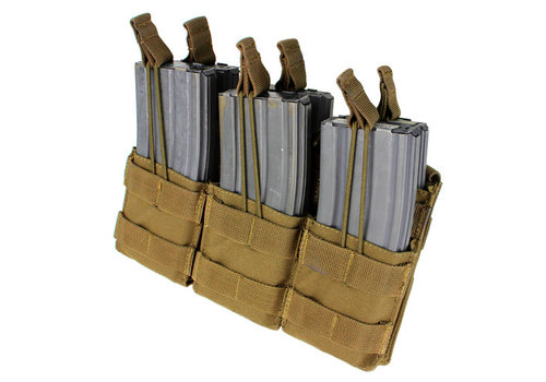 Condor MA44 Triple Stacker M4 Mag pouch - Coyote Brown