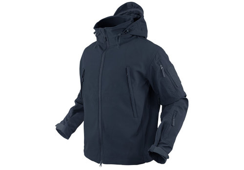 Condor 602 Summit Softshell Jacket - Navy Blue