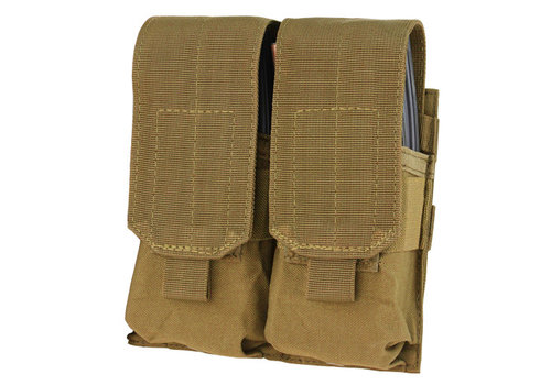 Condor MA4 Double M4 Mag Pouch - Coyote Brown