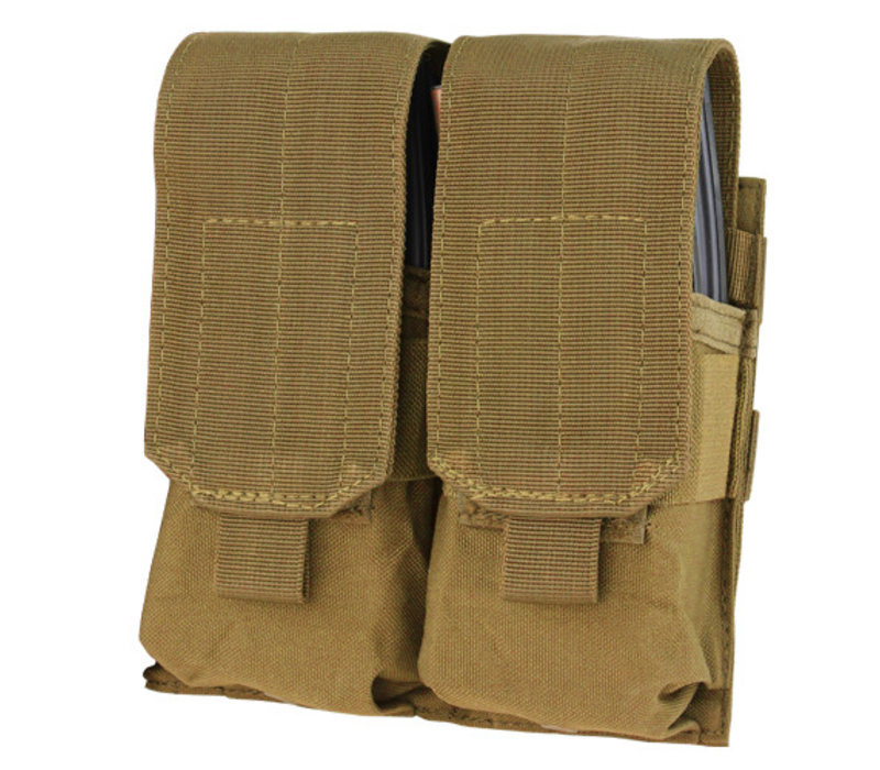 MA4 Double M4 Mag Pouch - Coyote Brown