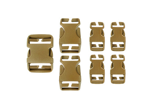 Condor Buckle Reparatursatz - Coyote Brown