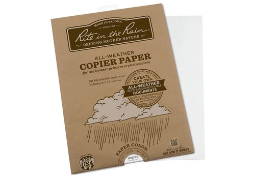 Rite in the Rain All Weather Copier paper A4 50 sheets - Gray