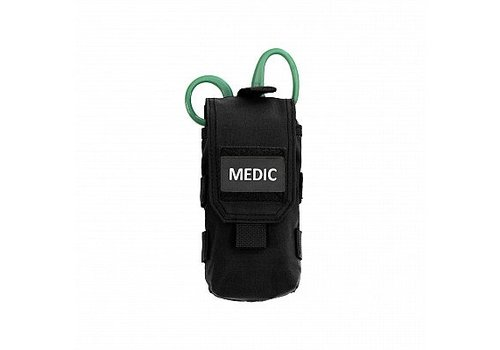 Warrior Individual First Aid Pouch - Black