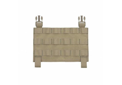 Warrior Recon Plate Carrier Front Panel - Coyote Tan