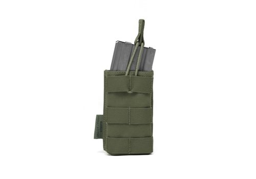 Warrior 5:56 Single Open Mag Pouch - Olive Drab