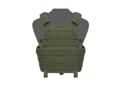 Warrior DCS Special Forces Base Plate Carrier - Olive Drab