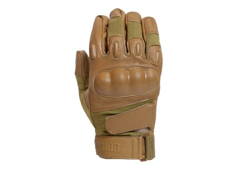 Warrior Firestorm Hard Knuckle Glove - Coyote Tan