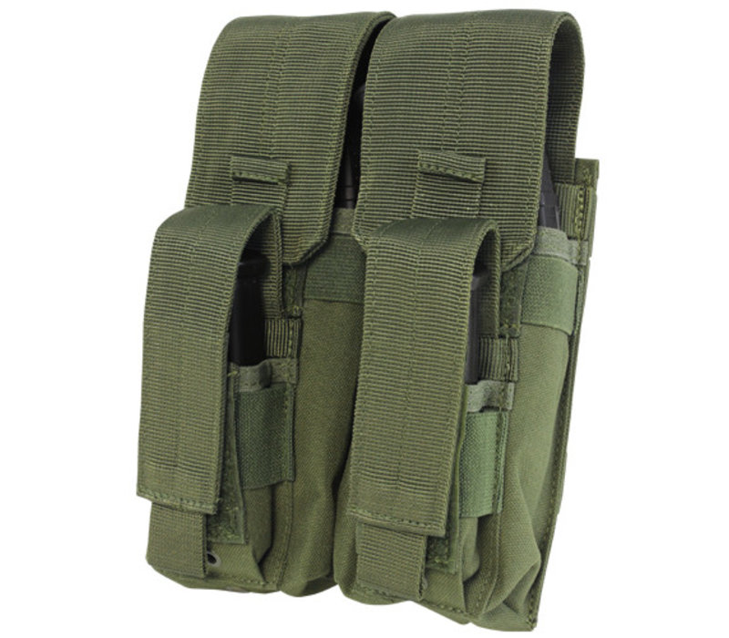MA71 Double AK Kangaroo Mag Pouch - Olive Drab