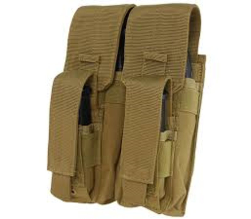MA71 Double AK Kangaroo Mag Pouch - Coyote Brown