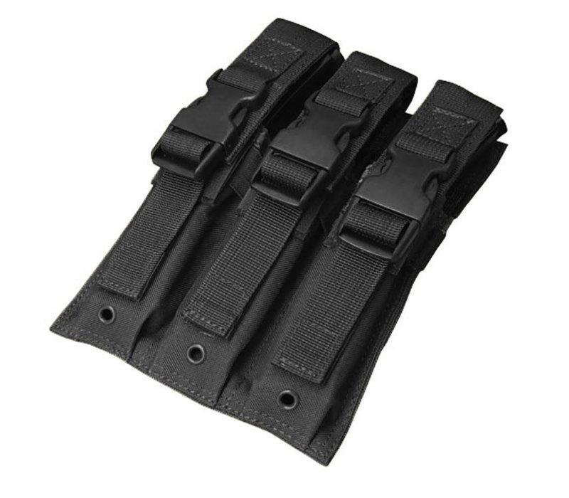 MA37 Triple MP5 Mag Pouch - Black