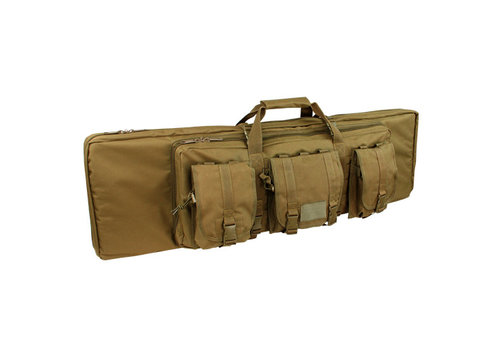 "Condor 151 36"" Double Rifle Case - Coyote Brown"