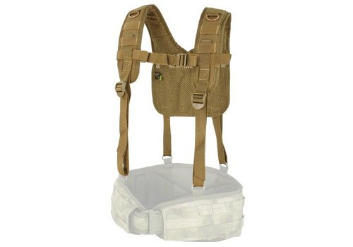 Condor H-Harness - Coyote Brown