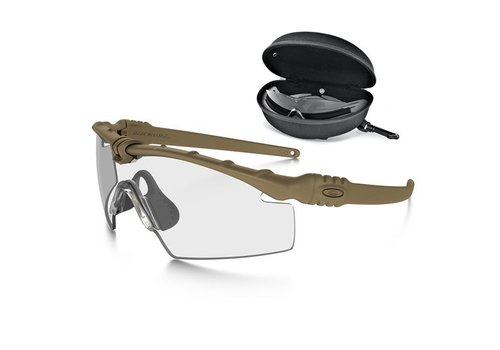 Oakley SI Ballistic M Frame 3.0 Bone with array clear/grey lenses