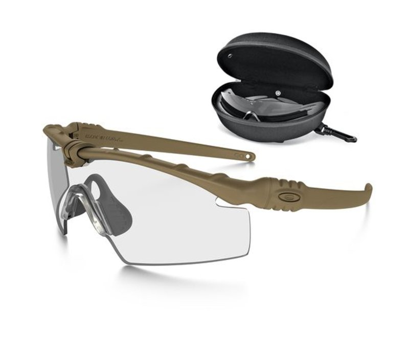 00e3198e76ebd Oakley SI Ballistic M Frame 3.0 Bone with array clear grey lenses ...