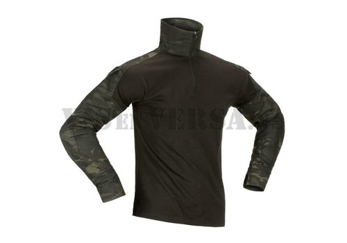 Invader Gear Combat Shirt - ATP black/ Multicam Black