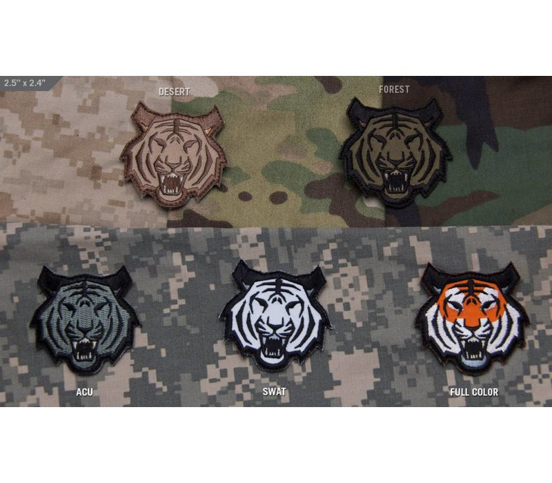 Tiger Head Patch - Full Color