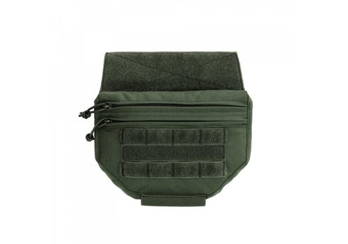 Warrior Drop Down Velcro Utility Pouch - Olive Drab