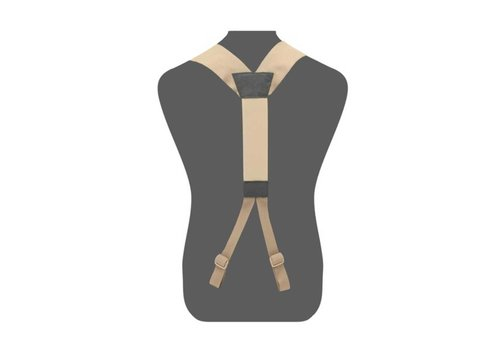 Warrior Slim Line Harness - Coyote Tan