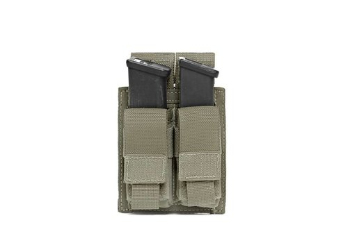 Warrior Elite OPS Direct Action Double 9mm Pistol Pouch - Ranger Green