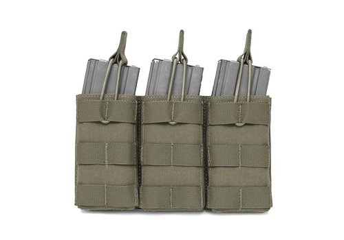 Warrior Open 5:56 Triple Mag Bungee Retention - Olive Drab