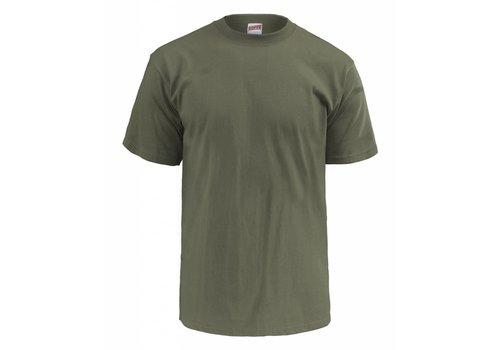 Soffe T-Shirt Olive Drab, 3 pak