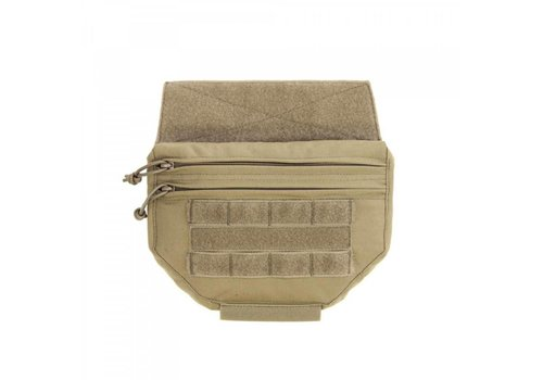 Warrior Drop Down Velcro Utility Pouch - Coyote Tan